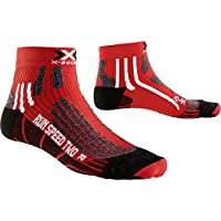 X-Bionic CALCETIN Run Speed Two Rojo/Negro 42/44 CALCETIN Run Speed Two Rojo/Negro 42/44, Unisex Adulto, Rojo/Negro, 42/44