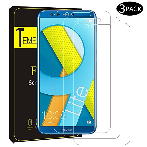 Huawei Honor 9 Lite Schutzfolie, [3 Stück] FayTun Huawei Honor 9 Lite Panzerglas-3D Touch Kompatibel, 9H Härte, Anti-Öl, Kratzer, Blasen und Fingerabdruck, Panzerglasfolie Displayschutzfolie für Huawei Honor 9 Lite