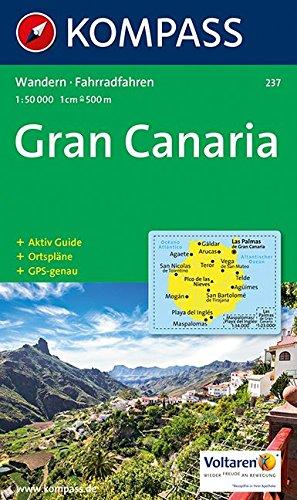 Gran Canaria 237 GPS kompass (Aqua3 Kompass)