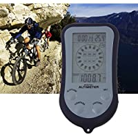 IPX 4 Wasserdicht LCD Digital Mini Portable Kompass Höhenmesser Barometer
