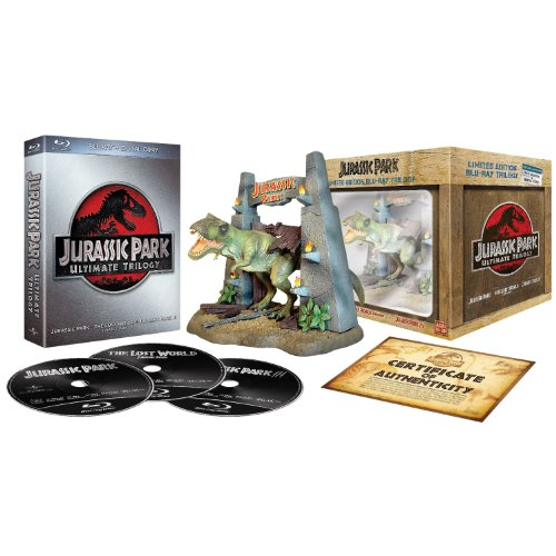 Jurassic Park Trilogie [Édition Ultime Collector Limitée - Blu-ray + Copie digitale]