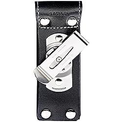 VICTORINOX Étui de ceinture avec pince métal Noir