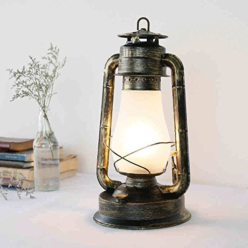 Retro Nachttisch Lampe Schreibtisch Lampe American Village Old-fashioned Creative Cafe Restaurant Lampe Bar Lichter