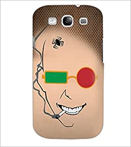 PrintDhaba Funny Sketch D-4489 Back Case Cover for SAMSUNG GALAXY S3 (Multi-Coloured)