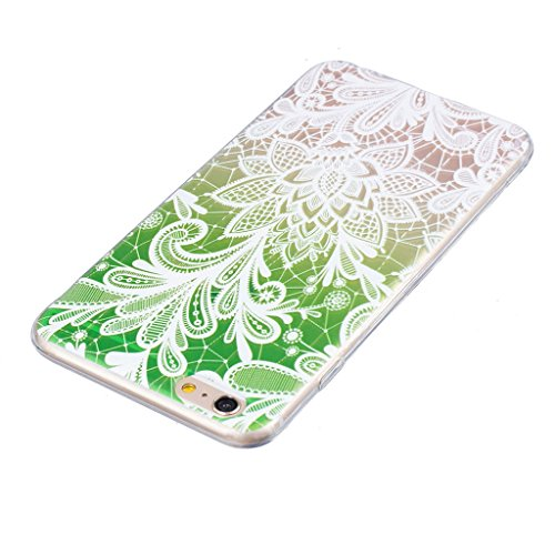 "iPhone 6s Coque - MYTHOLLOGY Antichoc Housse Transparent Silicone Souple Slim Coque Pour iphone 6 / iphone 6S 4.7"" - LSBH LSBH"
