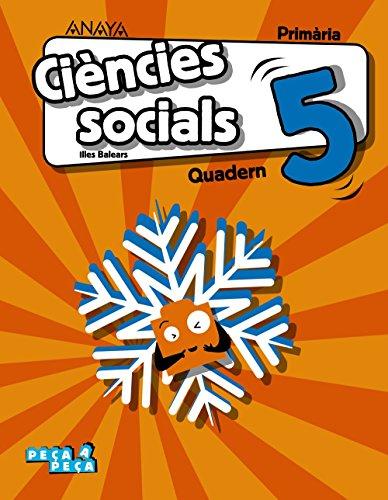 Ciències socials 5. Quadern. (Peça a peça)