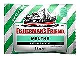 Fisherman's Friend Boîte de 24 Sachets Menthe sans Sucres (600 g)