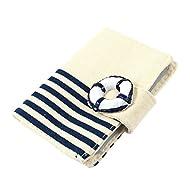 Bureau 10emplacements à rayures Business VIP Nom Porte-cartes Bleu foncé beige