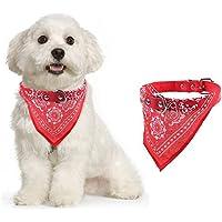 Hundehalsband mit Hals-Tuch verstellbar Badana für Hund Katze verschiedene Farben und Größen