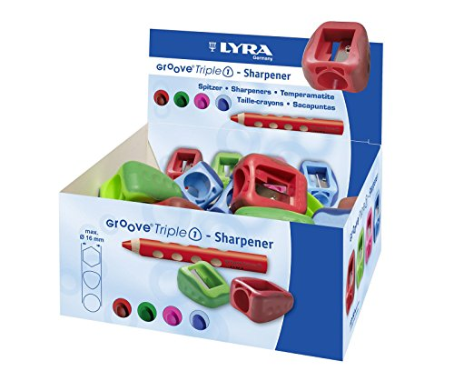 Lyra Spitzer / Anspitzer 'Groove Triple 1' (Farbe zufällig, 1 Stück) (Groove Spitzer)
