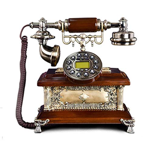 RMXMY Antike europäische Telefon Neue High-End Festnetz nach Hause Retro verdrahtete Festnetz-Mode-Ideen