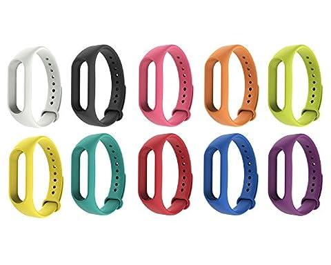 Bracelet Antistatique - iMounTop Xiaomi Mi band 2 Bracelet de