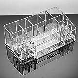Acryl Multifunktions Transparent Werkzeug Lagerung Schaufenster Schmuck Kosmetik Hohe Kapazität Bad Schminktisch Büro Studie Prozess Schmuck Fach Kunststoff Aufbewahrungsbox