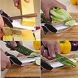 Gemüseschere von simple life - die Kräuterschere als innovatives Obstmesser und Küchenmesserersatz für viele gängige Obst- und Gemüsesorten in der