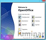 OpenOffice Professional 2016 - Alternative Microsoft Office Software. Documents / Spreadsheets / Presentations (PC & Mac)