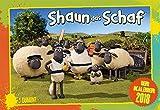 Shaun das Schaf 2018 - Broschürenkalender - Wandkalender - Kinderkalender - mit Schulferienterminen und Stundenplänen - Format 42 x 29 cm