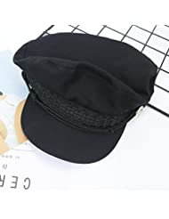 OME&QIUMEI La Juventud Femenina De Invierno All-Match Hat Cap Gorra Tapa Octogonal
