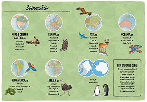 Zoom IMG-2 mappe degli animali