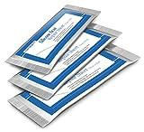 Trattamento in fogli di gel silicone per QUALSIASI tipo di cicatrice (vecchia, nuova, ipertrofica, cheloide) per trauma della pelle, chirurgia o ustioni - 3 fogli (3,5 cm x 12 cm ognuno)