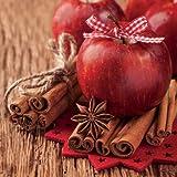 20 Servietten Christmas - Servietten Weihnachten - 'Christmas Apple'
