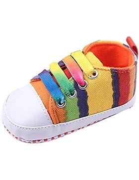 hibote Babyschuhe - Leinwand / Anti-slip / Schnürsystem #Xier