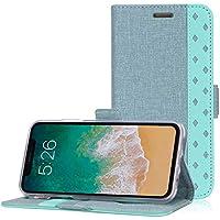 d78f90e231d ProCase Funda Cartera para iPhone XS MAX, Estuche Billetera Protector con  Ranuras de Tarjeta y