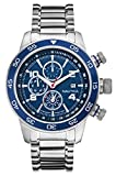 NAUTICA Armbanduhr NST 402 Chrono Blue and Steel A24534G
