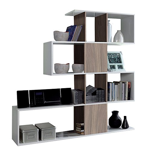 habitdesign-1w2251bo-estanteria-libreria-zig-zag-color-blanco-brillo-y-nature-medidas-45x145x30-cm-d