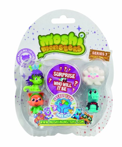 Moshi Monsters 5 Moshlings Packung - Serie 7 [UK Import]