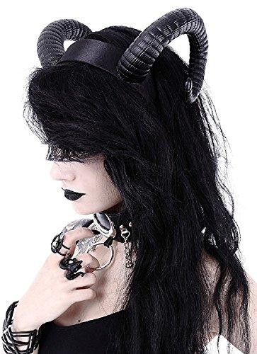 Restyle Gothic Sinister Stirnband Nugoth Widder Satan Hörner ()