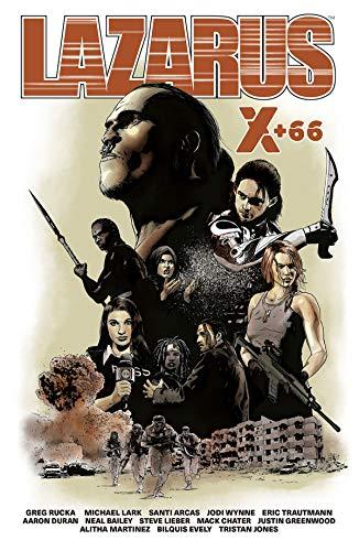 Lazarus X + 66 por Michael Lark y varios artistas Greg Rucka