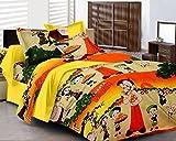 Decor Vatika cartoon print bedsheet with...
