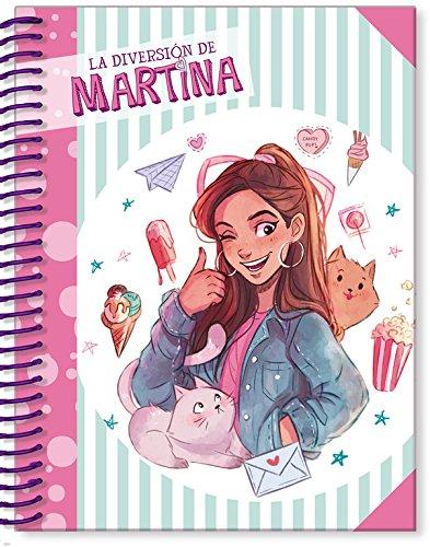 Libreta de La Diversión de Martina (turquesa) (La diversión de Martina) por Martina D'Antiochia