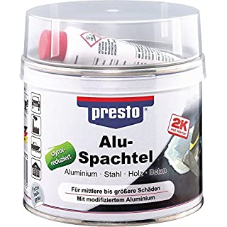 Alu-Spachtel grau, 1.000 g