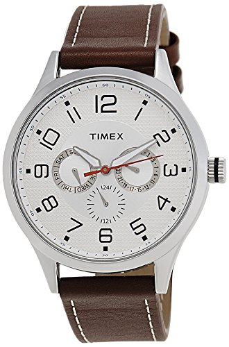 Timex Fashion Analog Silver Dial Men's Watch-TW000T304