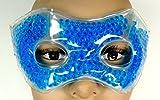 Maschera rilassante con perle Gel caldo freddo per rilassare la vista