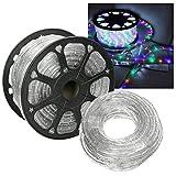 HG® 10m LED Lichtschlauch Lichterkette Lichterschlauch Dekolicht Fensterbeleuchtung für Außen&Innen Weihnachten Dekoration Hochzeit mit controller RGB