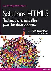 Solutions HTML5: Techniques essentielles pour les développeurs (Le Programmeur) (French Edition)