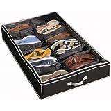Richards Homewares Gearbox Sixteen Cell Shoe Organizer-Black/Grey by Richards Homewares