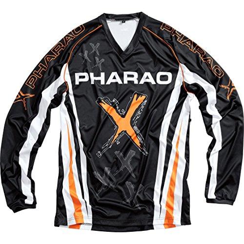 Pharao X Jersey Jersey de Tela 2.0 Orange L, Unisexo, Cross/Offroad, Todo...