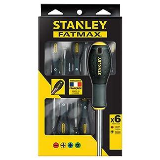 Stanley FatMax FMHT0-62626 Destornilladores FatMax-Juego 6 Piezas Plana/Phillips