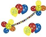 Riethmüller 450200 - Deko Set - Piraten, Girlande und 20 Luftballons