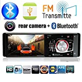 BoomBoost Radio de coche Estéreo FM 4.1 '' Bluetooth HD USB / TF / EQ MP3 / Control de Rueda MP4 Player autoradio