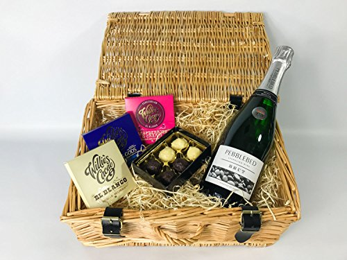 Champagne and Chocolates Hamper - Printed Box