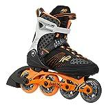 K2 Damen Inline Skate Alexis X Pro, schwarz/orange, 8.5, 3050101.1.1.085