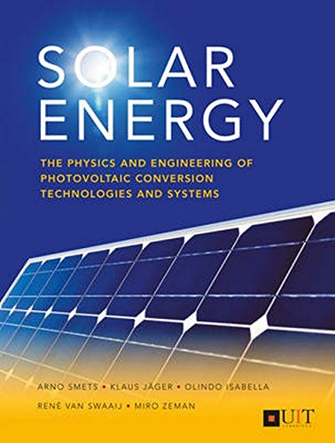 This book uniquely covers both the physics of photovoltaic (PV) cells and the design of PV systems for real-life applications. - Fundamental principles of semiconductor solar cells. - PV technology: crystalline silicon solar cells; thin-film cells; P...