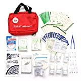 ~ 230 Pezzi di Primo Soccorso Set Emergency Kit Outdoor Kit Sopravvivenza Trattamento Medico