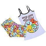 Pokemon Damen komfortabler 2tlg. Schlafanzug-Set, kurz Pyjama, Nachtwäsche - 30 / UK 4 / EU 32