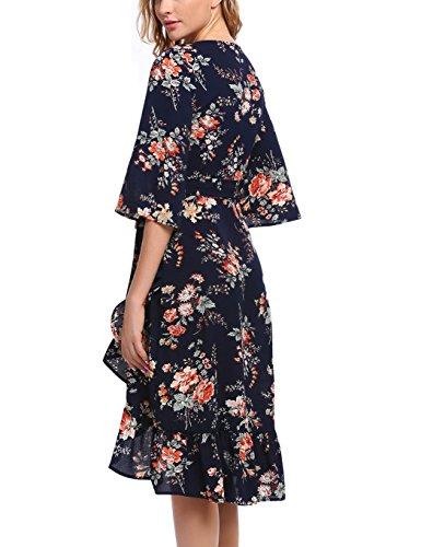 Zeagoo Damen Elegant Abendkleid Fetliches Kleid Partykleid ...