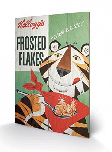 Marcas - Kellogg's Frosted Flakes, Vintage Cuadro...